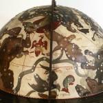 Globus von Engelmann, Stadtmuseum Zittau, Zustand nach der Restaurierung 2004, Rekonstruierter Bereich
