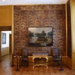 Goldledertapeten des Damenbildniszimmers, Schloss Moritzburg