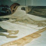 Zustand nach dem Wasserschaden 2002